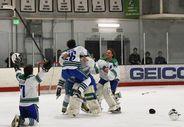 ice hockey 2-26 celebration