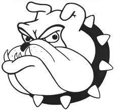 Bulldog blackandwhiteleft