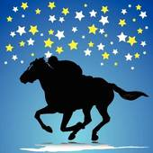 racehorse with stars 2