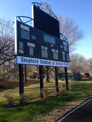 StadiumSignLandscaping