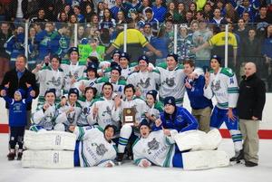Ice Hockey Maryland State Championship Team Photo 2015