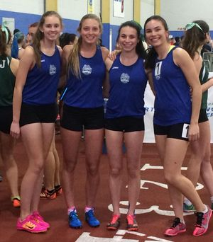 Indoor track - girls 2