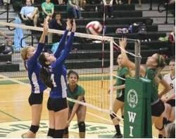 Volleyball girls Oct 2rev 2