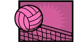 Volleyball pink 2