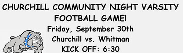 Churchill HS Community Night